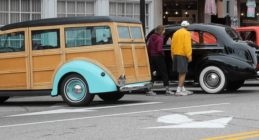 Saco Main Street Classic Car Show - Main Street Maine